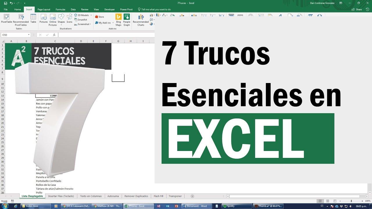 7 trucos avanzados de Excel que necesitas saber para conseguir trabajo