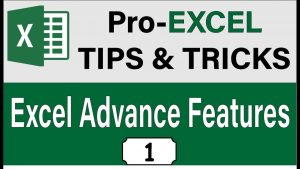 20 Advance Excel Tips And Tricks 2019, Excel 2019 Cool Features & Skills, [Applicable to Excel 2016]
