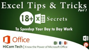 Learn the top Excel Secrets you Should Know – Excel Tips & Tricks – Part 1 – Basics