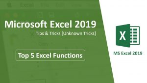 Microsoft Excel 2019 – Tips & Tricks [Unknown tricks]