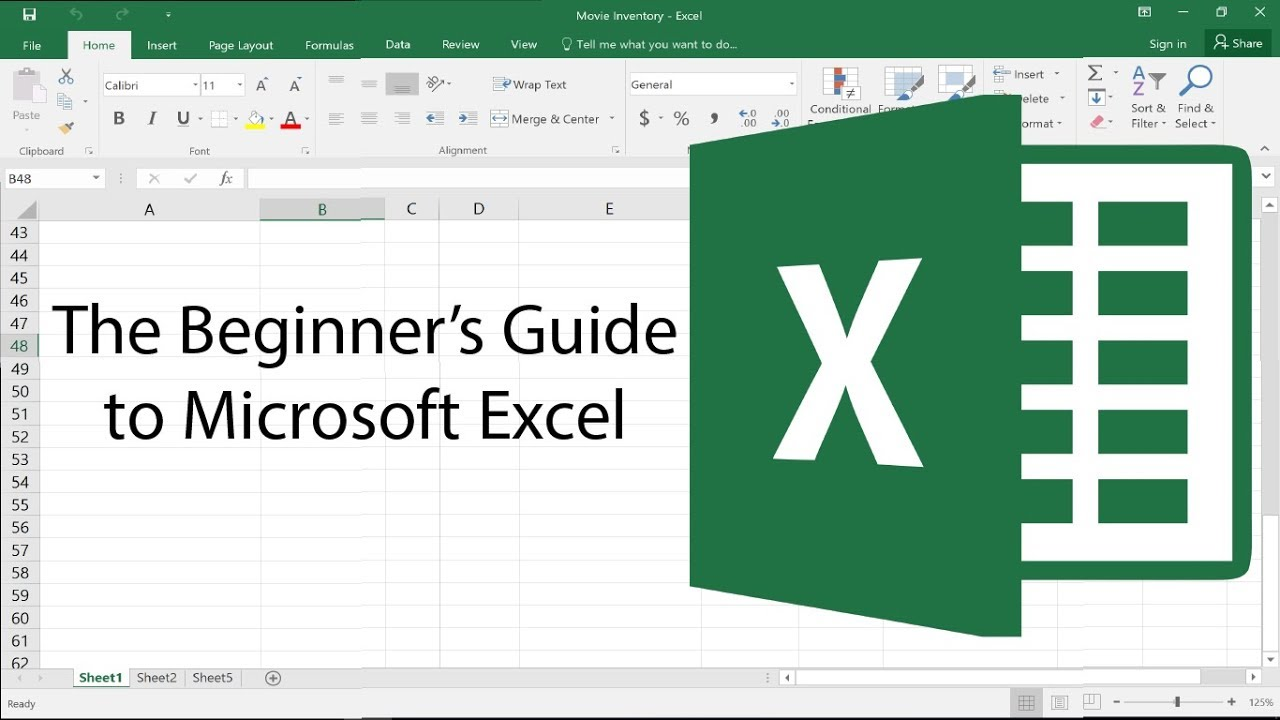 The Beginner's Guide to Excel – Excel Basics Tutorial
