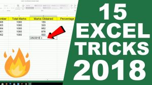 15 Most Used Excel Tips and Tricks 2018 ☑️