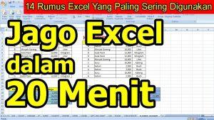 14 Rumus Excel Yang Paling Sering Digunakan