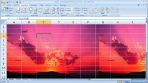 Excel Tips 12 – Add Background Pictures to Excel Spreadsheets