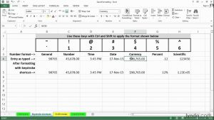 Quick formatting tips | Excel tips | lynda.com