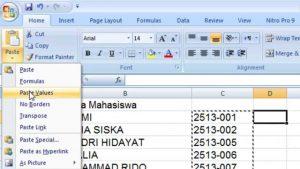 Tip dan Trik Bekerja Di Microsoft Excel