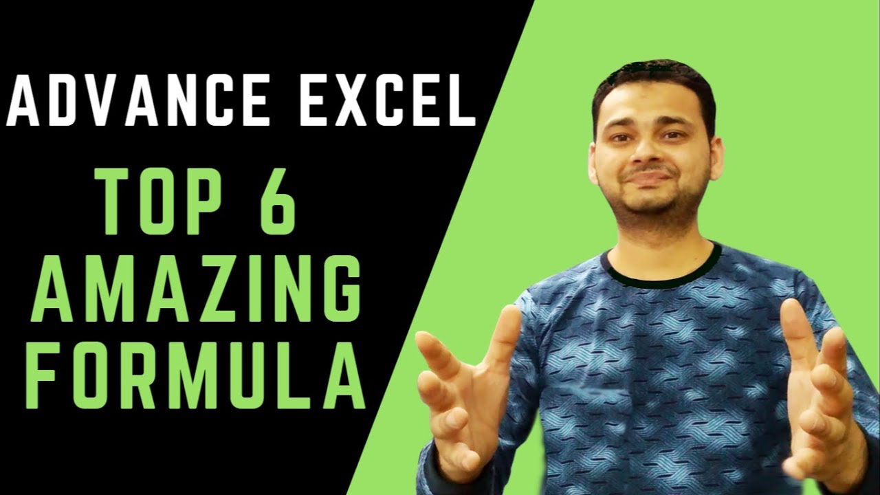 Top 6: Advanced Excel Tips 2019 (Powerful & Faster!!) in Hindi [Tech Guru Plus]
