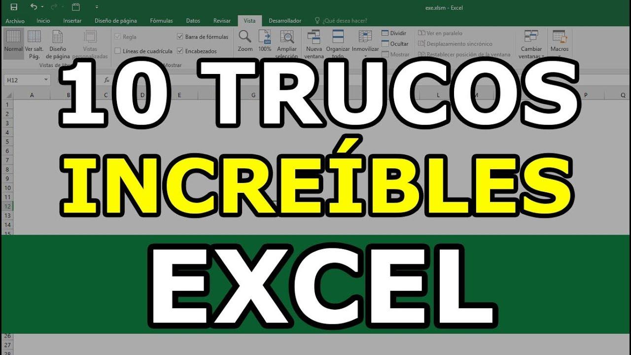 10 Trucos avanzados de Excel que necesitas saber para conseguir trabajo 2019