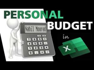 Create a Personal Budget – With lots of Excel Tips and Tricks