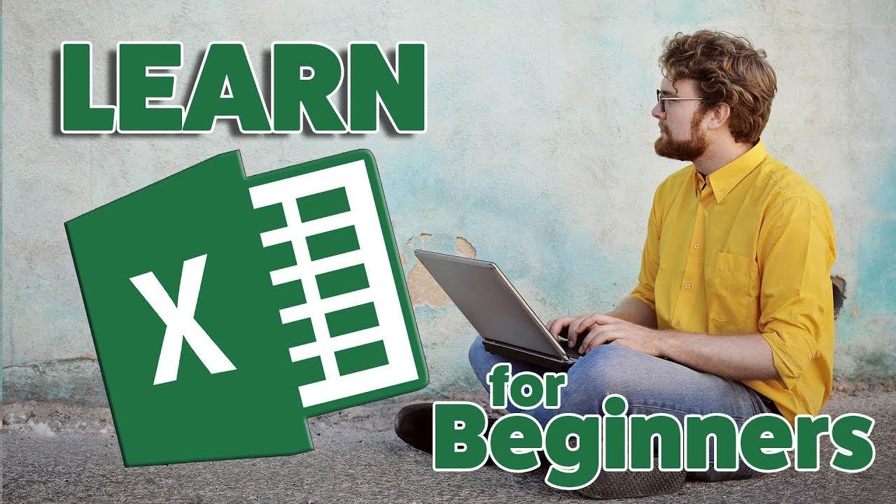 Microsoft Excel – 2018 Beginners Tutorial