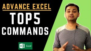 Top 5: Advanced Excel Tips 2019 (Powerful & Faster!!)  in Hindi  [Tech Guru Plus]