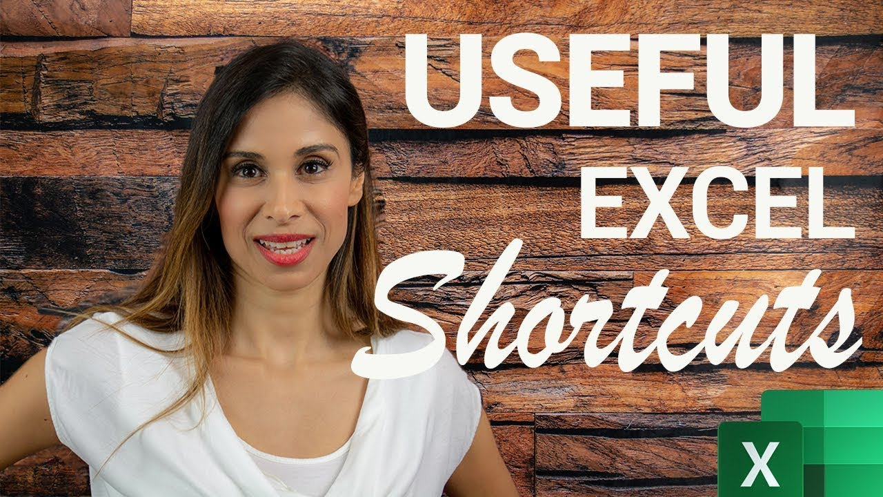 Excel shortcut keys you SHOULD know!