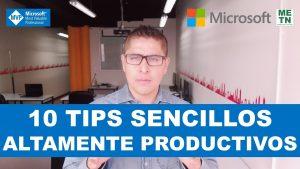10 Tips sencillos altamente productivos en Excel | #TopsdeExcel