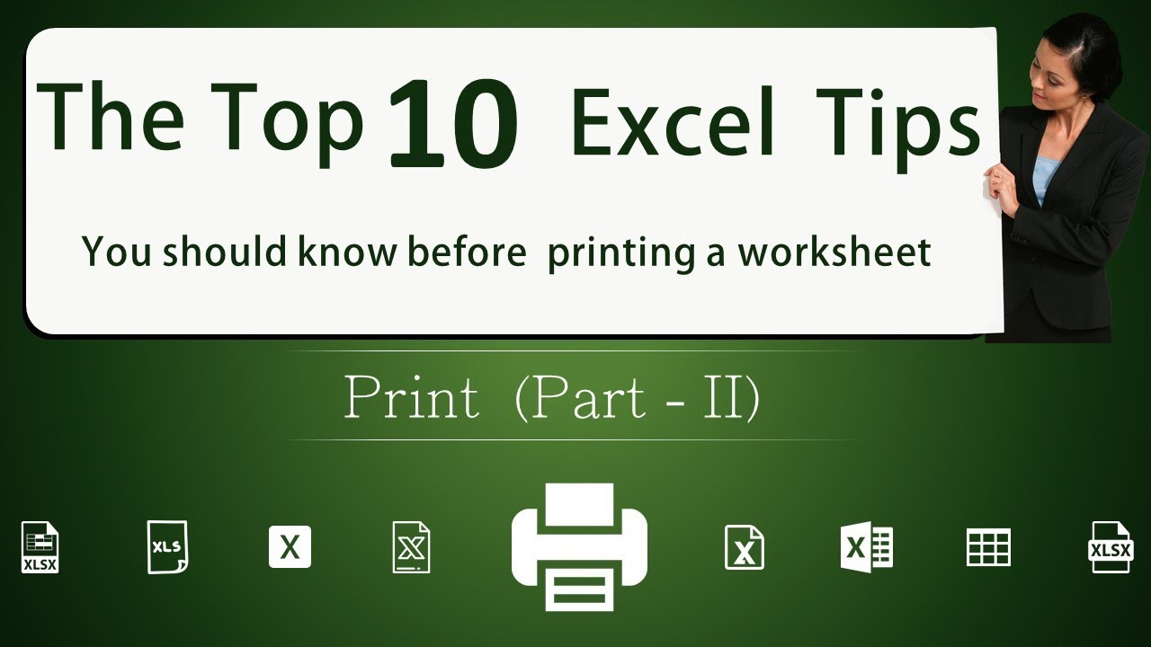 The top 10 Excel tips you should know before printing an excel sheet | Excel Tamil – Part 2