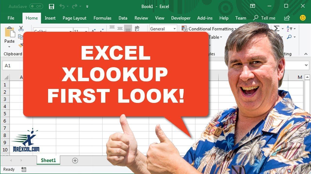 XLOOKUP in Excel is VLOOKUP Slayer! 2286