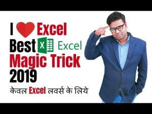 Best Excel Magic Ever – Excel Tips And Tricks 2019 – Every Excel User Should Know