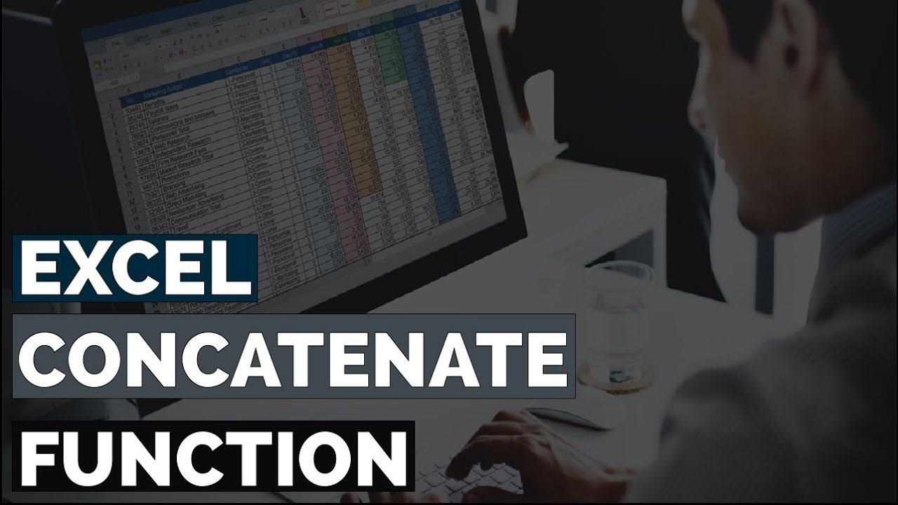 Excel CONCATENATE Function, Combine Data In Excel, Advanced Excel Tips and Tricks 2019