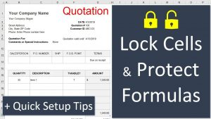 How to Lock and Protect Individual Cells in Excel + Bonus Tips for Quick Setup