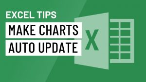Excel Quick Tip: How to Make Charts Auto Update