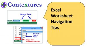 Excel Worksheet Navigation Tips