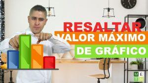 Resaltar el valor máximo en un gráfico | Tips y trucos en Excel