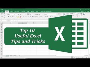 Excel Tips and tricks 2019
