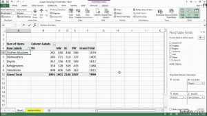 Custom grouping in PivotTables | Excel tips | lynda.com