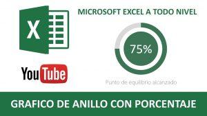 GRÁFICO DE ANILLOS CON PORCENTAJE EN EXCEL | Tips y trucos en Excel