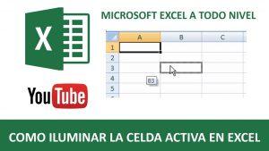 Tips y Trucos de Excel | Como iluminar la celda activa