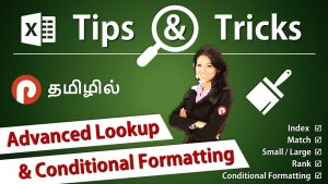 Excel Tips & Tricks – Advanced Lookup Formula in Conditional Formatting – Rank Small Large Index
