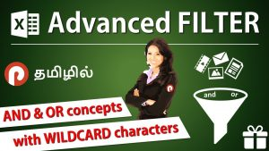 Excel Advanced Filter – Complete Tutorial in Tamil | 16+ Excel Tips & Tricks of  Advanced Filter