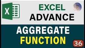 Excel Aggregate Function & Formula Excel Tips & Tricks , Advanced Excel Data Analysis 2019
