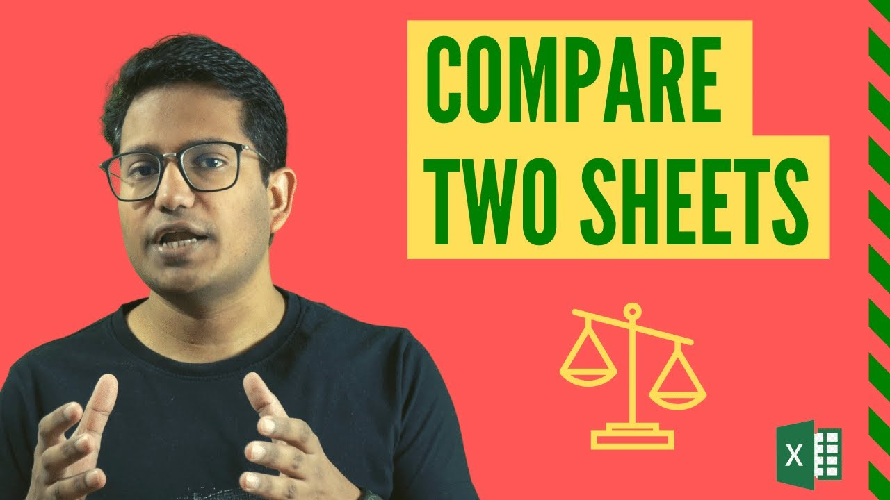 How to Compare Two Excel Sheets (and find the differences)