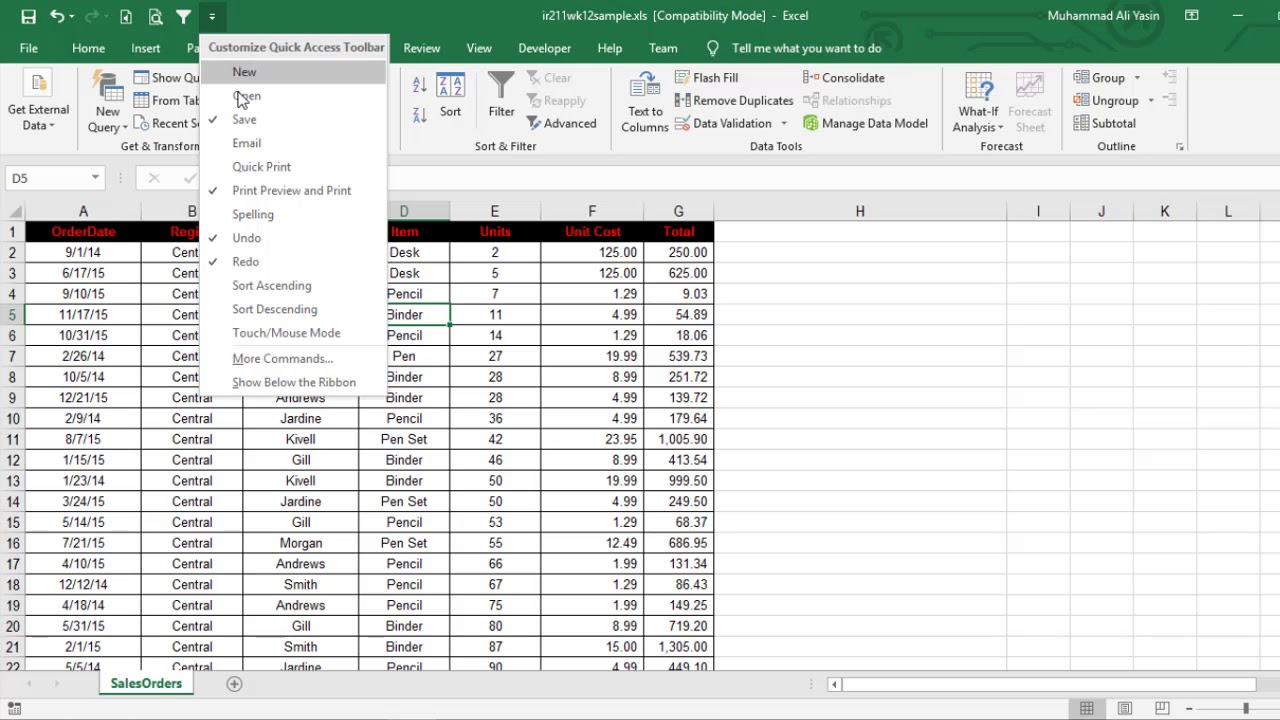 excel tips and tricks 2020 #8 Filter Data Tricks