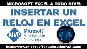 Tips y Trucos de Excel | Insertar un reloj en Excel