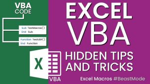 Excel VBA Tips and Trick | Most Powerful Function in Excel VBA | Excel VBA Tutorial | For Beginners