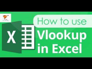 Excel Tips: How to use VLOOKUP function?