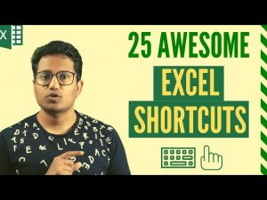 25 AWESOME Excel Keyboard Shortcuts (You Should Know)!