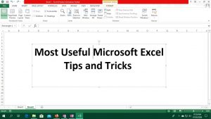 Most Useful Microsoft Excel Tips and Tricks