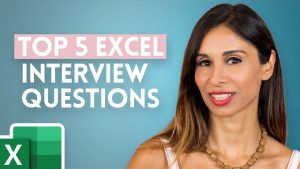 5 Excel INTERVIEW Questions You NEED to Get RIGHT