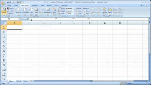 Excel Tips 22 – Keyboard Shortcuts for Excel 2007 The Easy Way to Learn Them