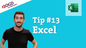 #13 Excel tips – Slimmer data bewerken door je tabel op te maken  – Office 365