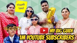 1M YouTube Subscribers | Thanks | My Big Guide