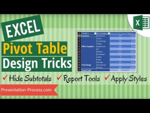 Excel Pivot Table Design Tricks