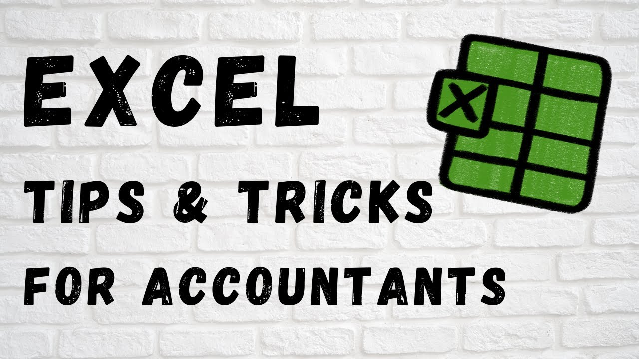 Excel Tips for Accountants! (Part 1)