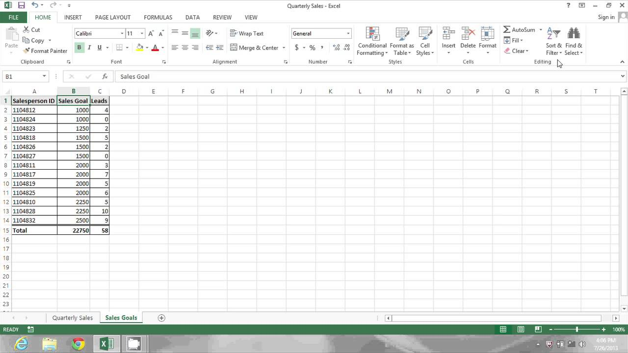 How to Sort Ascending Numerically in Excel : MS Excel Tips