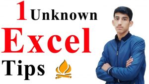 Best 1 Unknown Excel Tips You Dont Know 2020 – Excel user should know
