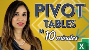 Excel Pivot Tables EXPLAINED in 10 Minutes (Productivity tips included!)