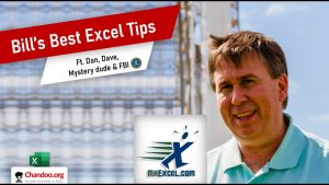 Bill Jelen – MrExcel's Best Excel Tips (including a secret tip from FBI 😮)