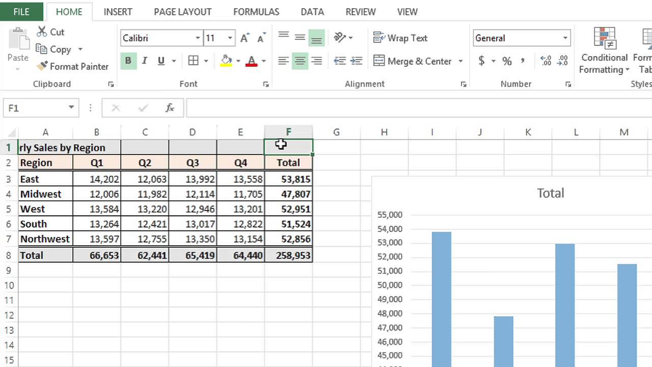 How to Create Cells Within Cells in MS Excel : MS Excel Tips